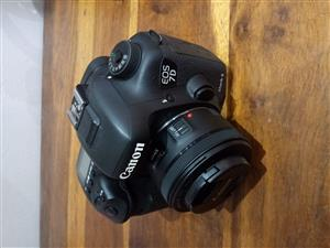 Canon 7d mkii & 50mm f1.8 STM