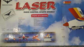 RC Plane, ARF kit, Laser Aerobatic Plane