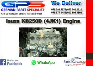 Isuzu KB250D (4JK1) Engine for Sale