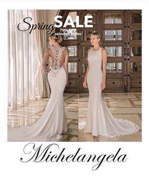 Wedding dresses Spring SALE
