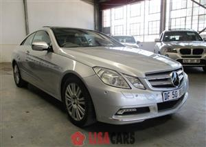 2010 Mercedes Benz E Class E350 coupé Avantgarde