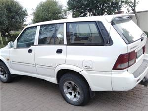**MUSE SSANGYONG STRIPPING FOR SPARES - HUGE FESTIVE BARGAIN**