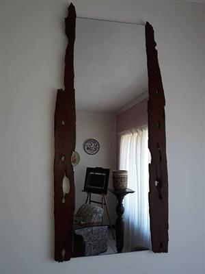 Hand made Mirror size 1.1m x 500mm