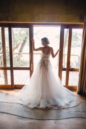 Kobus Dippenaar Anna georgina - christelle Wedding dress