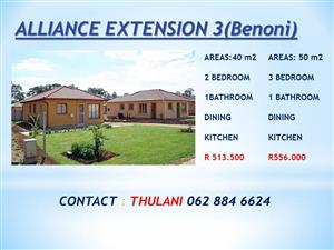 houses for sale at Alliance ext 3 (benoni)