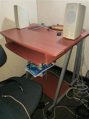 Wooden computer stand for sale