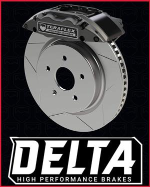 Teraflex new delta brake kits for sale