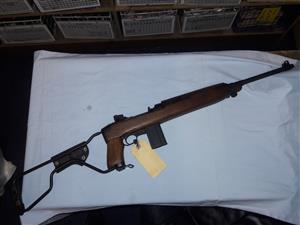 Inland div. .30M1 Carbine with para folding stock. VGC