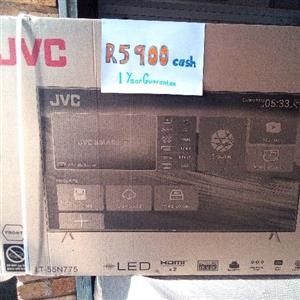 "JVC Brand new 55"" Smart Tv"