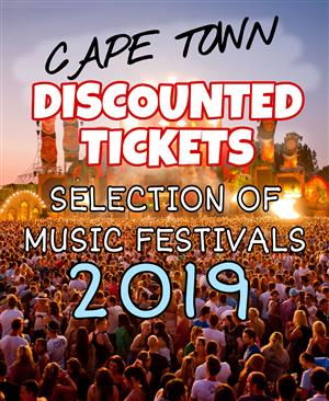 BUY DISCOUNT TICKETS from a selection of HOWLER FESTIVALS CAPE TOWN 2019