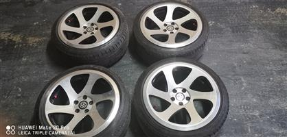 17 inch 3sdm twist rims with tyres