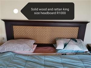 King size headboard for sale