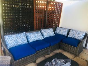 Garden lounger - 6 Seater