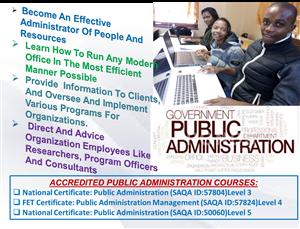 KTC College Accredited Public Administration Course