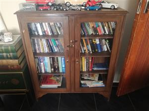 2x antiques wall unit for sale