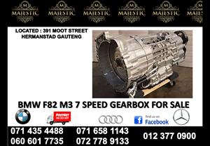 Bmw F82 M3 used gearbox for sale