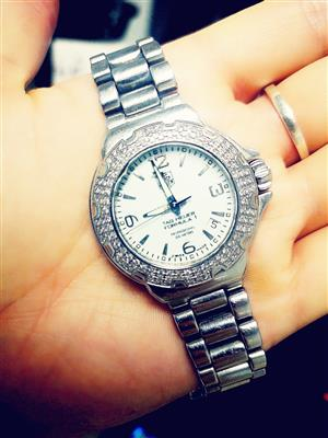 Tag Heuer, Formula 1, Limited addition Ladies Watch, Steel with 120 Wesselton diamonds