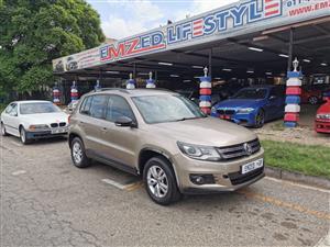 2012 VW Tiguan TIGUAN 1.4 TSI COMFORTLINE DSG (110KW)