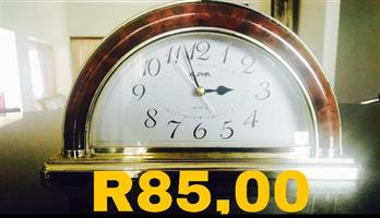 Old halfmoon clock for sale