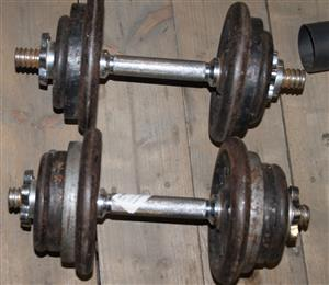 41kg dumbell set S030943A #Rosettenvillepawnshop