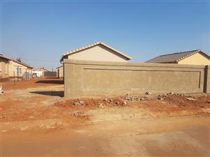 A 2 bedroom house available for rental immediately in Protea Glen ext 24!