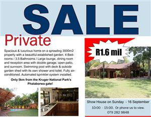Spacious & luxurious home - Phalaborwa