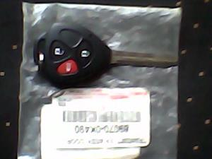 Original uncut uncoded Key for Toyota