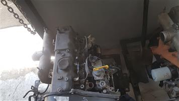 Hyundai H100 D4BB 2.6 Diesel Engine Complete