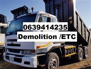 Randburg  rubble removals service