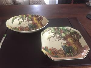 Five Royal Doulton Dishes