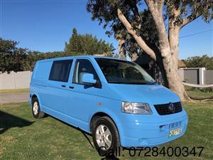2005 VW Transporter 2.5TDI 4Motion Long Wheel base Camper Van