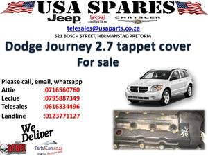 DODGE JOURNEY 2.7 USED TAPPET COVER FOR SALE