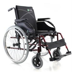 MR WHEELCHAIR COMFY DELUXE ALU WHEELCHAIR