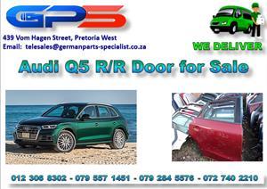 Used Audi Q5 R/R Door for Sale