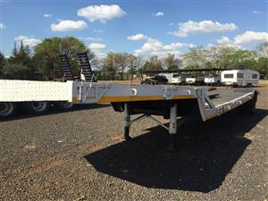 U Make Single Axle Lowbed Pre-Owned Trailer