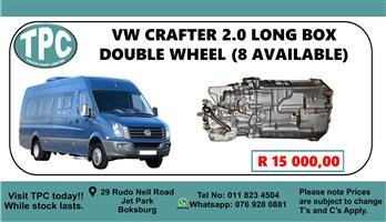 VW Crafter 2.0 Long Box Double Wheel - For Sale at TPC.