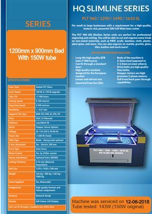 BARGAIN -Laser Cutter/ Engraver For Sale - Negotiable