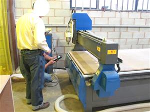 R-2040LC/45 EasyRoute 380V Lite 2050x4000mm Aluminium T-Slot Clamping CNC Router, 4.5kW