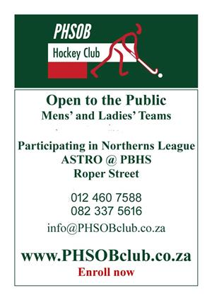 Club Hockey in Pretoria