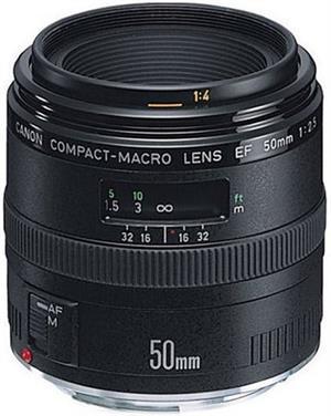 CANON EF 50mm f2.5 COMPACT MACRO LENS