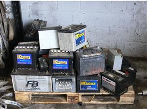 For any car scrap battery - NO WEIGHT REQUIRED