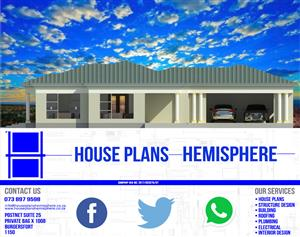 4 Bedroom House Plan - Open Plan Dining + Lounge with Double Garage