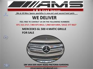 MERCEDES GL 4MATIC GRILLE