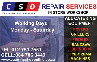 Catering Equipment Repairs Services