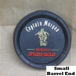Captain Morgan Jamaican Blended Rum Barrel Ends. Brand New Products.