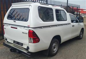 GC BRAND NEW TOYOTA HILUX GD6 HI-LINER WHITE CANOPY