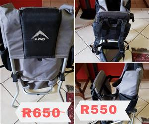Kway Baby carier backpack
