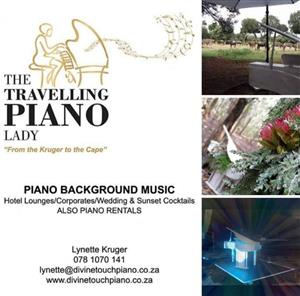 LIVE Piano Background Music, from the Kruger to the Cape