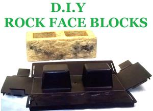 Start your own Rock Pattern Brick Making Biz for only R4500