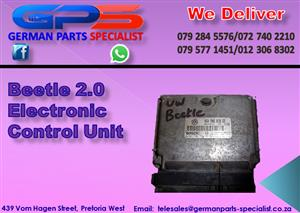 VW Beetle 2.0 Electronic Control Unit for Sale